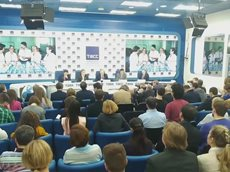 Пресс-конференция Грудинина
